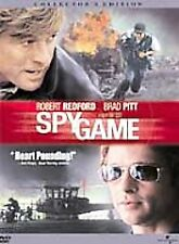 Spy Game (DVD, 2002, Full Frame Collectors Edition) LN CL4