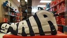 "NEW Men's Nike Air More Uptempo ""Olympic"" DS Scottie Pippen Obsidian/White 2016"