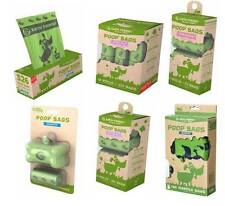 Dog Poo Poop Bags Earth Friendly Scented Unscented Lavender Biodegradable