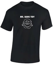 CELEBRITY JUICE T SHIRT - KEITH LEMON - MR BANG TIDY - FUNNY T SHIRT -