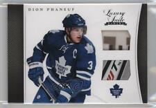 2011-12 Panini Rookie Anthology Luxury Suite #7 Dion Phaneuf Toronto Maple Leafs