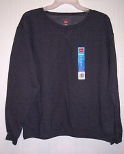 Woman's Crew Neck Sweatshirt by Hanes - ComfortSoft - Size S, M, L or XL