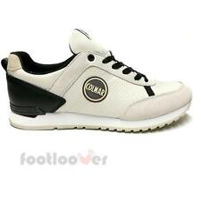 Shoes Colmar Travis Drill 016 White Black Fashion Moda Man Sneakers Fashion Casu