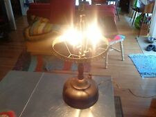 Antique Gas lamp converted to electric lamp