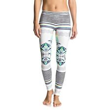 Roxy Keep It Roxy Womens Surf Leggings Marshmallow