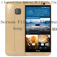 PVC Tempered Glass Membrane Glossy Matte Screen Protector Film Skin F HTC One M9