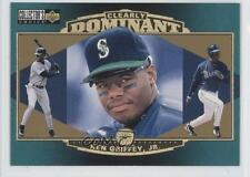 1997 Upper Deck Collector's Choice Clearly Dominant #CD2 Ken Griffey Jr Jr. Card
