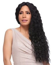 [LACE FRONT WIG] SENSATIONNEL EMPRESS SYNTHETIC CUSTOM LACE WIG - FRENCH WAVE