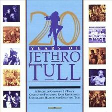 20 Years of Jethro Tull: Highlights by Jethro Tull (CD, Chrysalis Records)