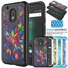 Shockproof Rubber PC Hard Case Cover For Motorola Moto G4/Moto G Play (4th Gen)