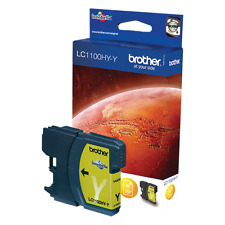 Brother LC1100HYY 750pgs Hi-Cap Yellow LC-1100HYY Ink Cartridge yellow ink cartr
