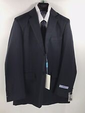 Boys 5 Piece Navy Suit with Adjustable Waistband Art Hoffman Junior Size 12