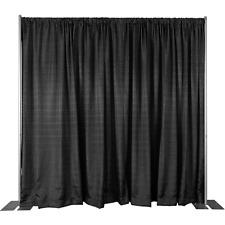 16 Ft High x 50' - 200' Wide Pipe and Drape Kit (WITH DRAPES) - FREE SHIPPING