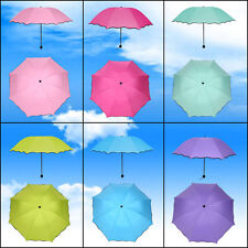 Folding Anti-uv Sun Protection Encounter Water Appear Flower Compact Umbrella DH