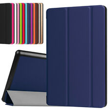 Magnetic Leather Case For Amazon Kindle Fire HD 8 6th Gen 2016 Slim Cover Shield