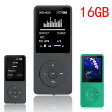 "RUIZU MP3 Player 16GB Speaker 1.8"" Video Player FM Radio Recorder micro usb MP3"