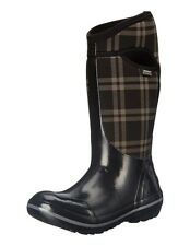 Bogs Boots Womens Plimsoll Plaid Tall Waterproof 71785