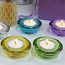 GLASS VOTIVE CANDLE HOLDERS - TEALIGHT HOLDERS - VARIOUS CHOICES