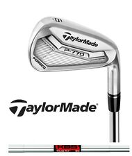 New 2017 Taylormade Golf P 770 Irons P770 Iron Set KBS Tour FLT 2* Strong Loft