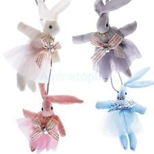 Cute Lace Rabbit Pretty Kid Girl Chain Necklace Pendant Easter Birthday Gift