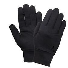 glove liner polyester gloves black liners only for increased warmth rothco 3524