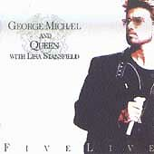 George Michael Cassette Queen Live Five Lisa Stansfield Freddie Mercury Tribute