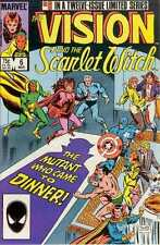 Vision and the Scarlet Witch (1985 series) #6 in Near Mint - condition