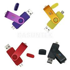 Swivel Micro USB / USB Flash Memory Key Stick Pen Drive Storage Thumb U Disk