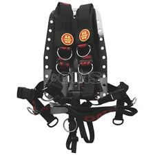 OMS Comfort Harness System II with Stainless Steel Backplate