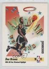 1991-92 Skybox #315 Dee Brown Boston Celtics RC Rookie Basketball Card