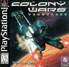 Colony Wars: Vengeance (Sony PlayStation)ps2 ps3 40+space level 5 solar 6 ending