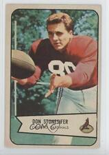 1954 Bowman #48 Don Stonesifer Chicago Cardinals Football Card