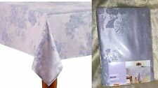 Celebrate Easter Spring Floral Tablecloth Pastel Purple Lavender Butterfies New