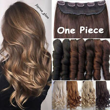 US Hair Extensions Clip in Real Thick Curly Hair Extension Real Human Feel Pk2