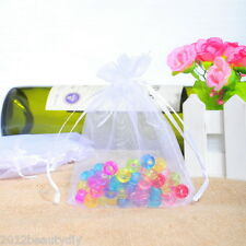 Wholesale Lots Organza Wedding Gift Bags&Pouches 9x12cm Candy Bag