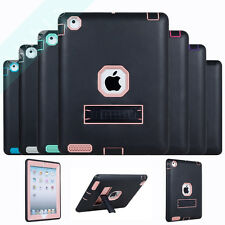 Heavy Duty Rugged ShockProof Hybrid Armor Stand Case Cover For Apple iPad 2/3/4
