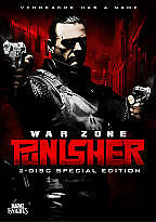 Punisher: War Zone (DVD, 2009 Single disc) Ray Stevenson
