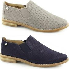 Hush Puppies ANALISE CLEVER Ladies Suede Leather Ankle Chelsea Boots