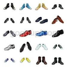 1/6th Male Shoes Boots Canvas Shoes/Leather Shoes for 12inch Action Figure Body