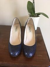 Lk Bennett Shilo Blue Snake Court Shoes 39 / 6