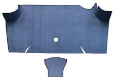 1967-1968 Ford Mustang Fastback Trunk Kit Floor Only Loop Carpet Trunk Mat 2pc