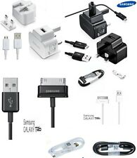 SAMSUNG GALAXY S4 S5 S6 S7 EDGE 2A MAINS CHARGER PLUG + USB MICRO CHARGING CABL