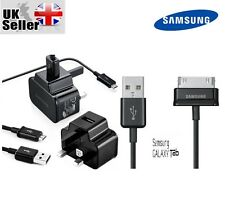 SAMSUNG GALAXY S4 S5 S6 S7 EDGE 2A MAINS CHARGER PLUG + USB MICRO CHARGING CABLE