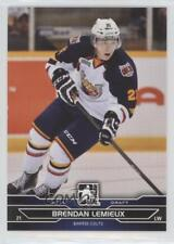 2014-15 In the Game Draft Prospects #31 Brendan Lemieux Barrie Colts (OHL) Card