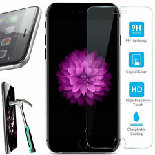 Lot 2 5X 10X Real Tempered Glass Screen Protector Film For iPhone Samsung Galaxy