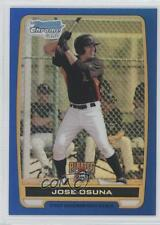 2012 Bowman Chrome Prospects Blue Refractor #BCP21 Jose Osuna Pittsburgh Pirates