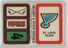 1979-80 Topps Stickers #STL St Louis Blues St. Team Hockey Card