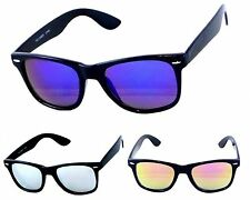 Men Women Sunglasses Classic Square REVO Mirrored Lens Retro Glasses