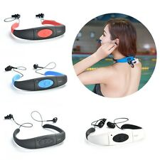 Waterproof Sport Headset MP3 Player FM Radio Swimming Surfing Diving Cool 4/8GB