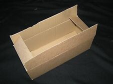 QUALITY HEFTY SINGLE WALL POSTAL MAILING CARDBOARD BOXES IDLE FOR POST.